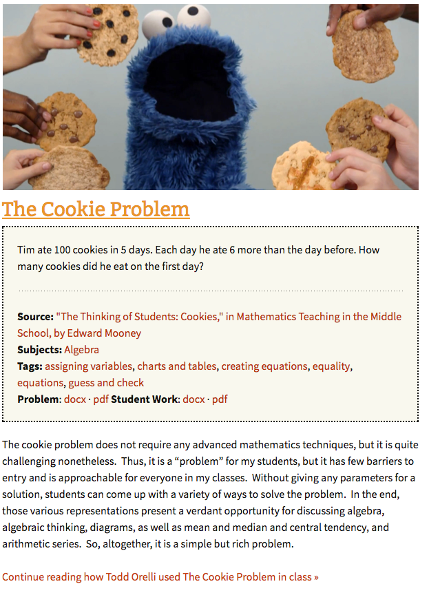 The Cookie Problem Screenshot